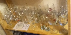 Growing Collection of Beer and Wine Glasses