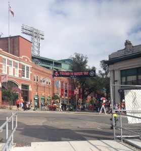 View from front door of Fenway