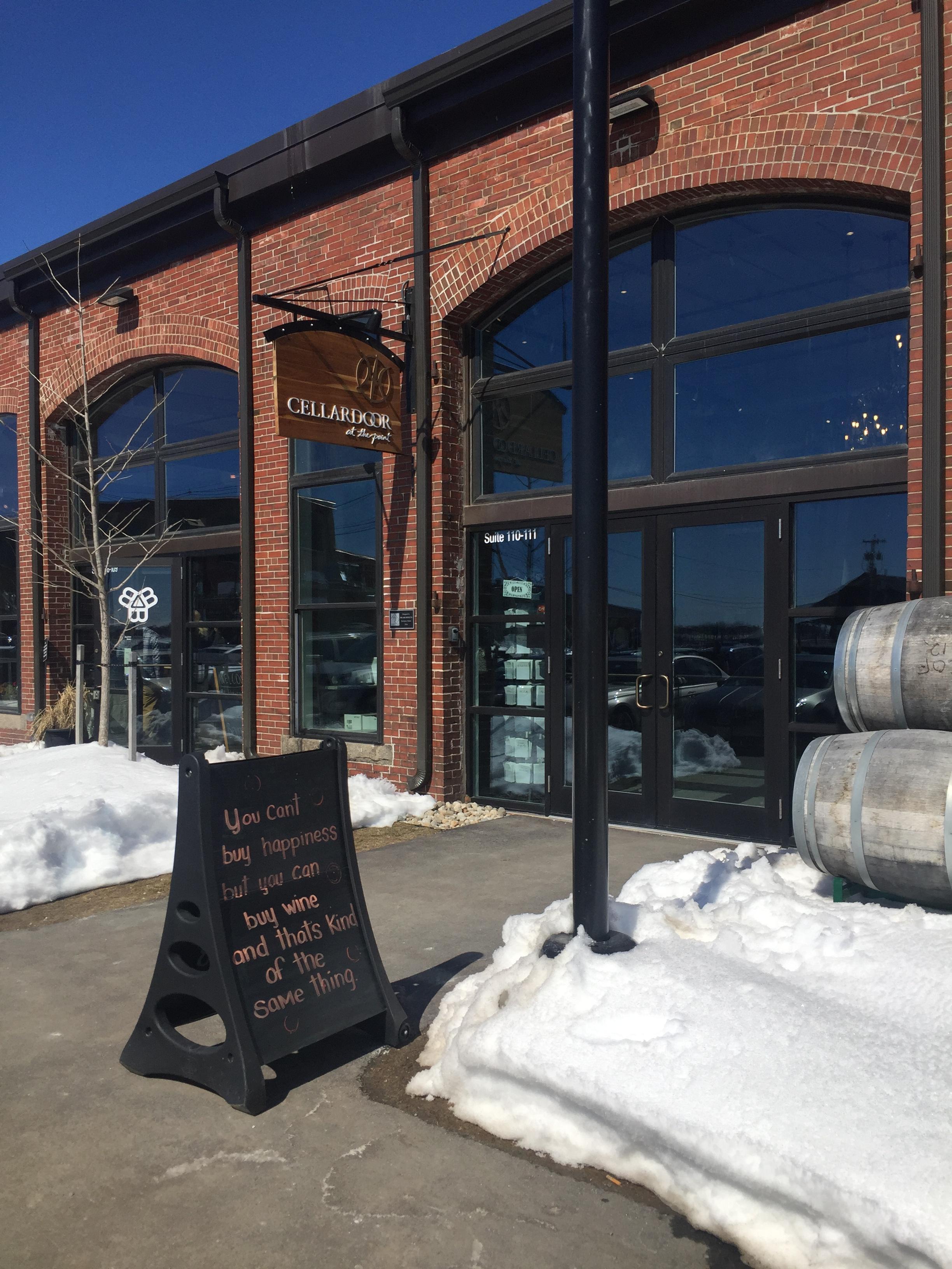 Cellardoor Winery Portland Maine Tasting Room